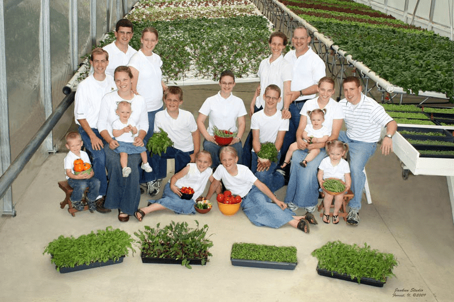 Living Water Farms Family